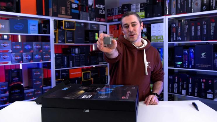 인텔 11세대 로켓 레이크 리뷰 샘플은 이미 리뷰어 손에 들어갔습니다.