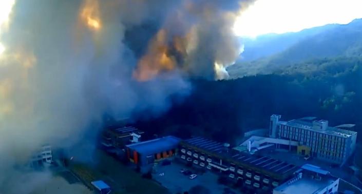 안동, 예천, 하동 등 전국 곳곳 에서 산불 발생