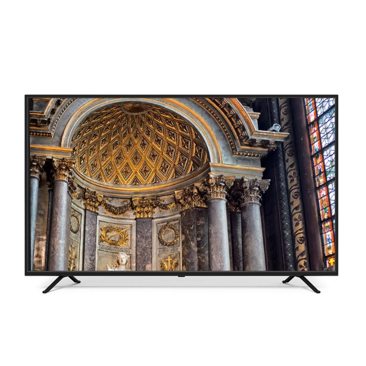 유맥스 UHD 165cm LG패널 4K TV UHD65L, 스탠드형, 방문설치