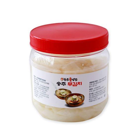 [특가상품] 송주불냉면 제주 월동 무김치 1kg 4,800 원♪♩ ♫