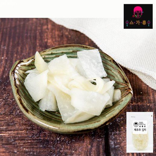 [할인정보] 스가홍 제주무김치 800g 냉면 쫄면 쌈무대용 어린이김치 굿  3,900 원♪ 60% 할인♩♪