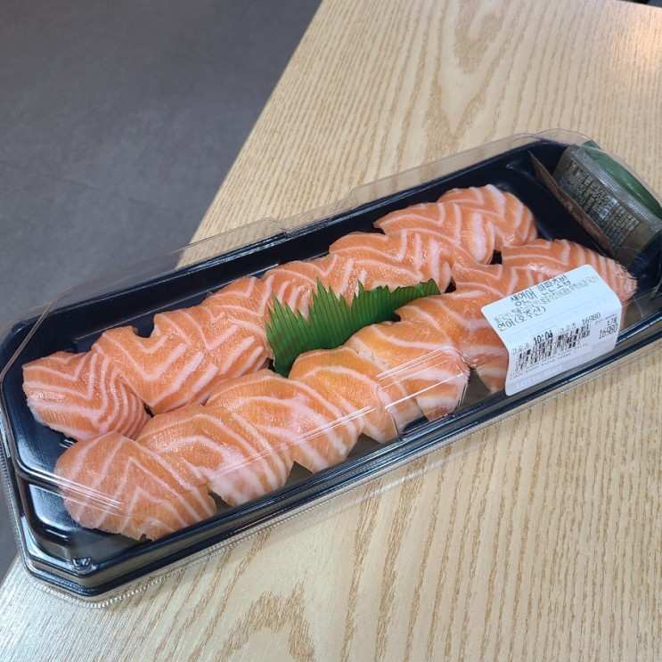 연어초밥 떡볶이는 진리