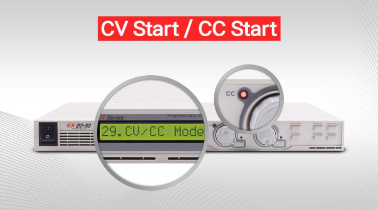 CV Start or CC Start?