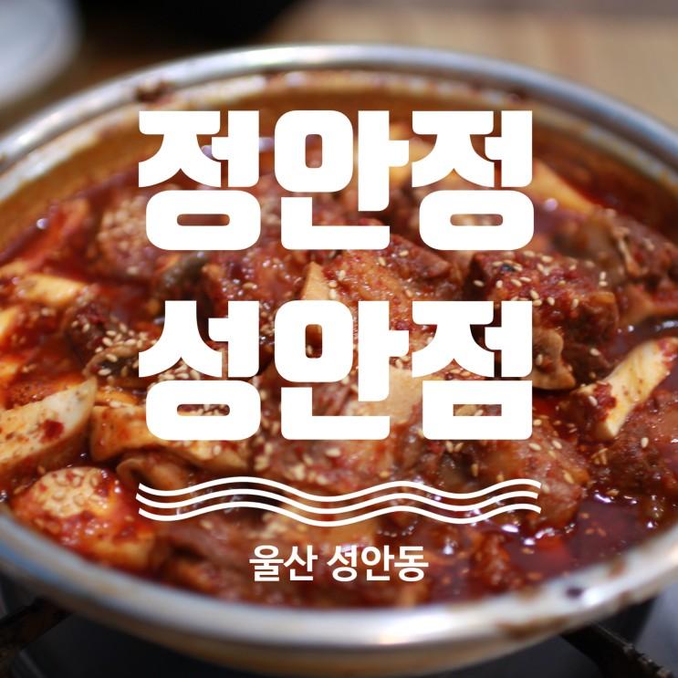 울산 성안동 맛집 정안정 성안점!! 울산 찜갈비 로컬 찐 맛집!!