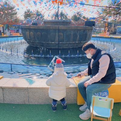 서울랜드에서 겨울 끝자락 즐기기 (라바눈썰매장, 빙어낚시체험)