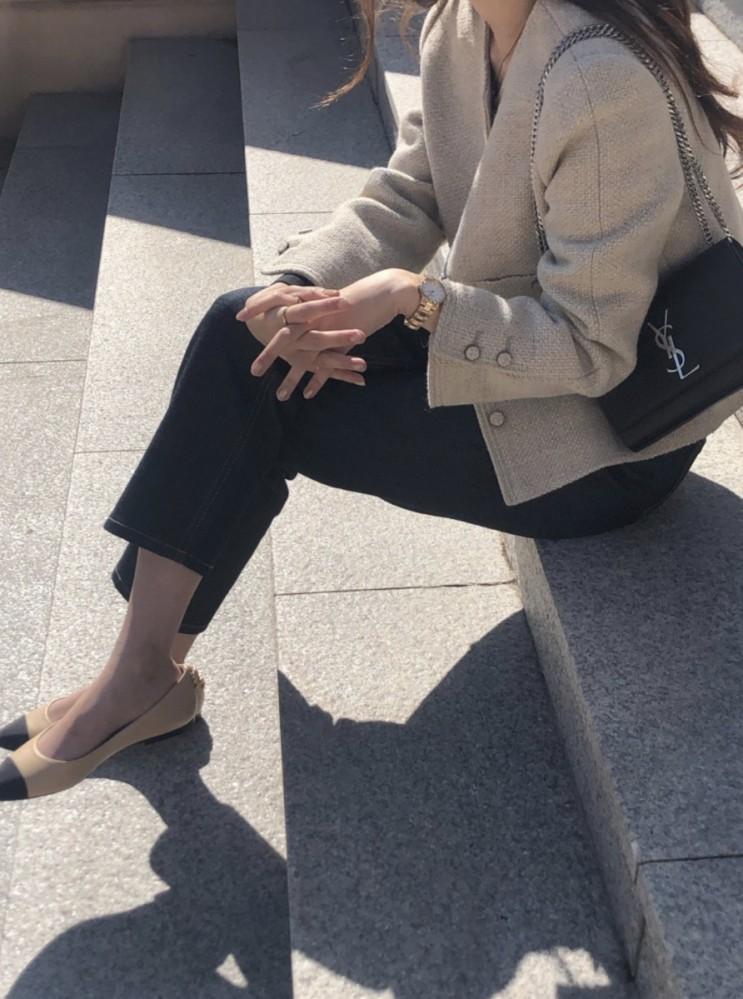 봄 데일리룩 준비하기 : 제이투유마켓 versailles tweed jacket ♥