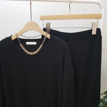 [할인상품] 디바스타 여성용 루즈핏 라운드 티셔츠 팬츠 투피스 세트 29,900 원! 12% 할인★