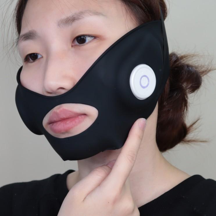 얼굴마사지기구 홍현희 요가마스크 사용후기