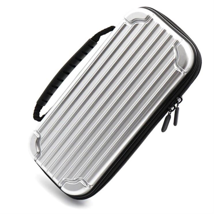 [특가제품] 모모켓 캐리어 휴대용 하드 닌텐도 스위치용 파우치 실버 17,090 원~ 7% 할인!