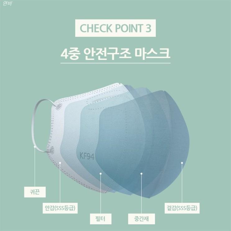 [특가상품] 에어데이즈 KF94 새부리형 마스크 대형 50매 조정석 마스크 AIRDAYS 29,000 원♥ ~*