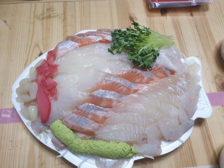 노량진수산시장 맛집 모듬회는 여전히 맛있는 전남고흥횟집 !