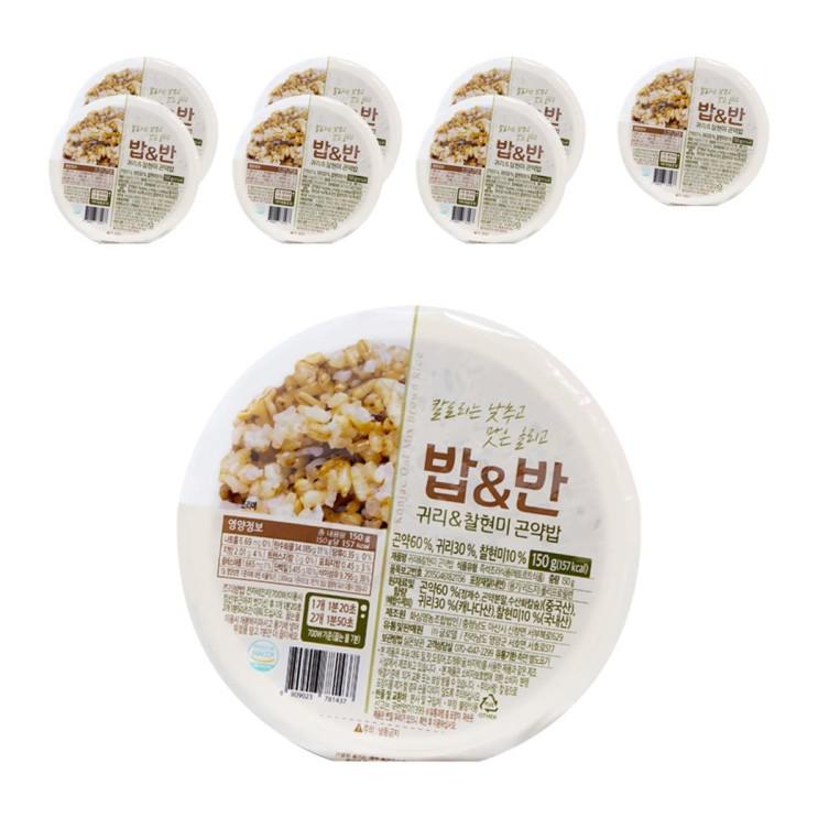 [할인상품] 밥앤반 귀리 찰현미 곤약밥 17,220 원♬ ~*