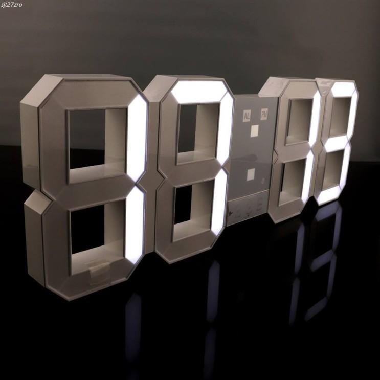 [대박할인] 아이프리 무소음 3D LED 벽시계 45cm 120,000 원♪ ~