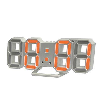 [할인추천] 쿠팡 직수입 시프이컴 3D LED벽시계 듀얼 DS-6609WO 13,900 원♪♩ ✿