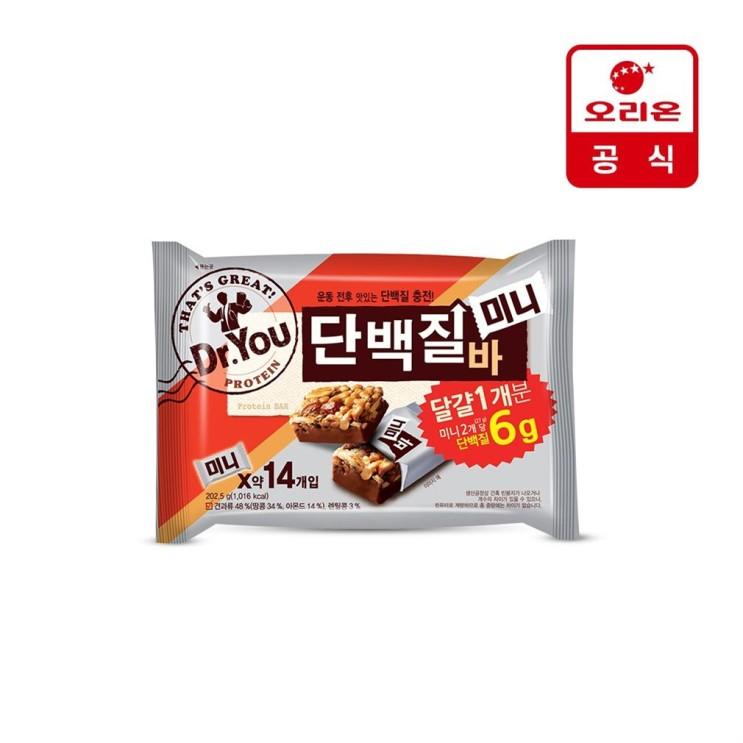 [특가상품] 오리온 닥터유 단백질바 미니 202.5g x 1개 4,800 원❤ ♪♩