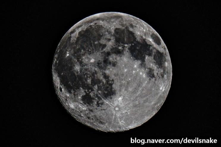 2021년 2월 26일 정월대보름 보름달 사진