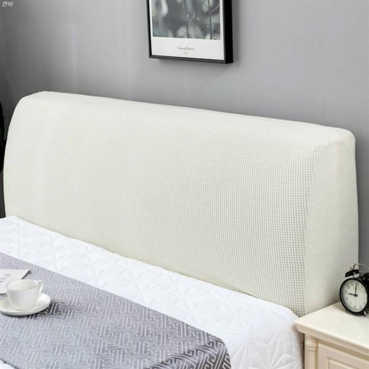 [할인제품] 마켓A 심플 스트레치 소프트 침대 헤드 커버 15,000 원♫ ♩♪