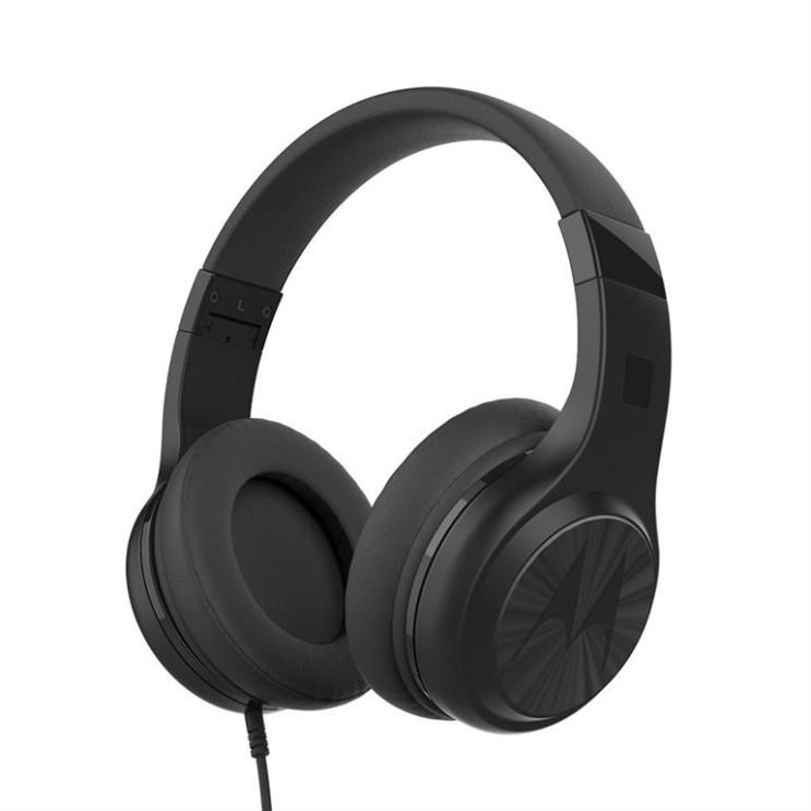 [할인상품] 모토로라 펄스120 유선 접이식 헤드폰 19,510 원~! 2% 할인♥