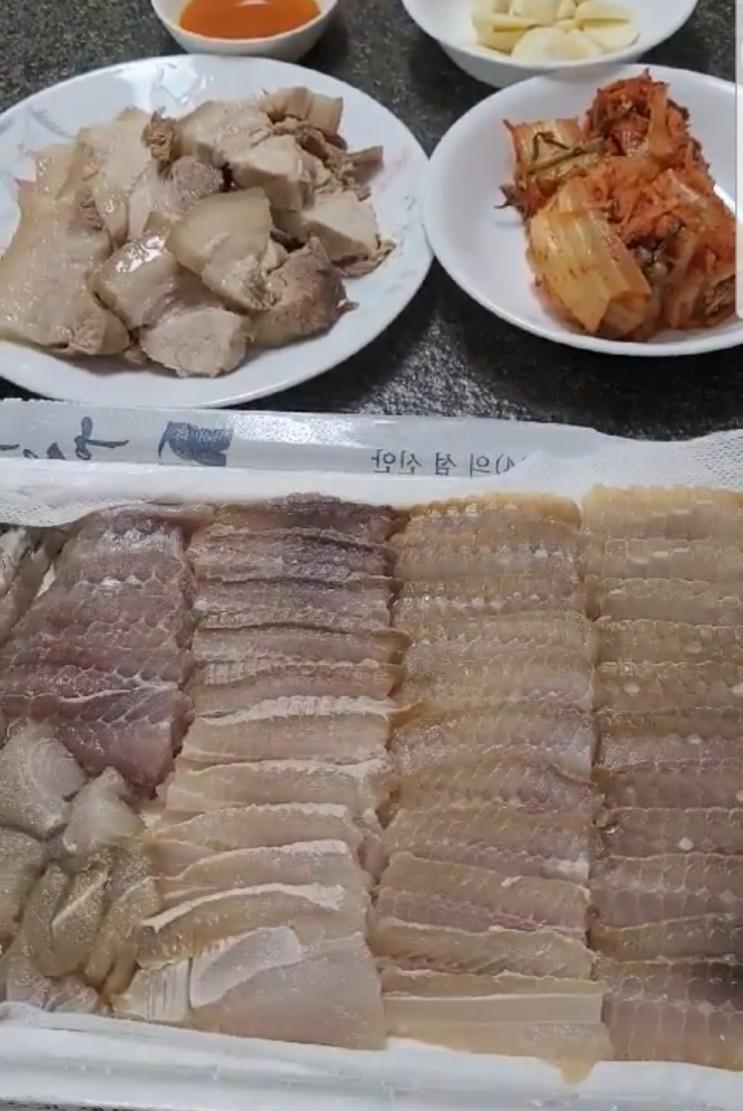 목포홍어 택배로 흑산도홍어가격 부담없는 흑산홍어~ (목포한결수산)