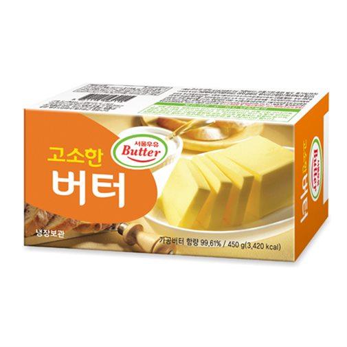 [추천특가] 서울우유 고소한 버터_450g 7,600 원☆ ♡
