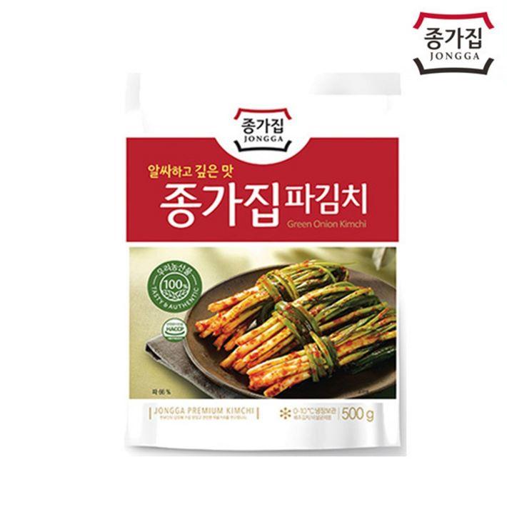 [할인정보] 종가집 파김치 양파/파/부추김치 17,800 원♪ ♬