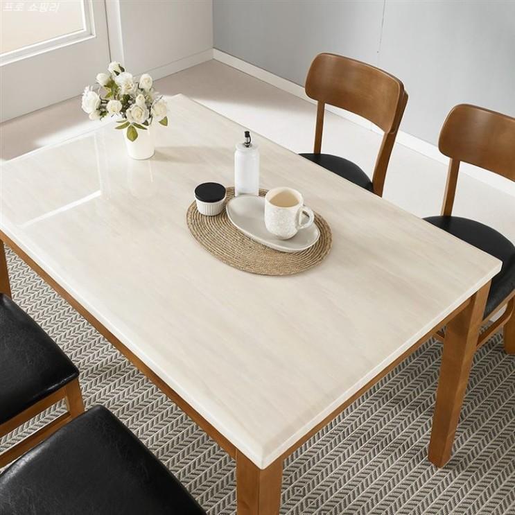 [할인정보] 라로퍼니처 빈츠 대리석 4인용 원목 식탁 세트 식탁세트 142,000 원♪ 43% 할인♩