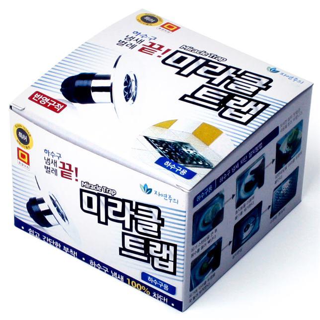 [할인정보] 하수구냄새차단트랩 미라클트랩 하수구용 6,900 원♪♩ ★