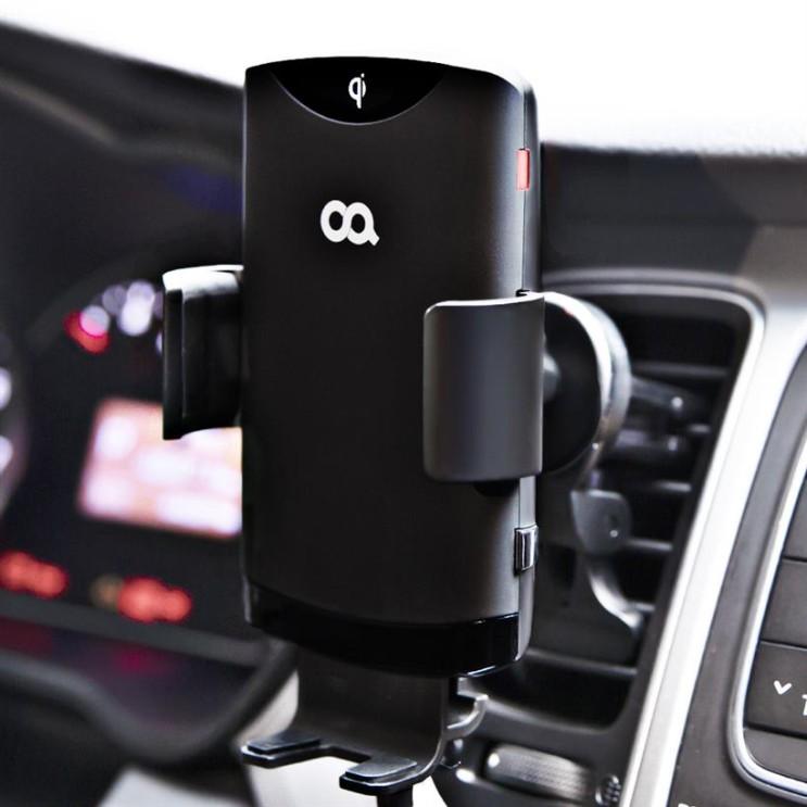 [할인정보] 오아 와이더F2 FOD센서 차량용 핸드폰 고속 무선 충전 거치대 15W 31,150 원~* 27% 할인♥