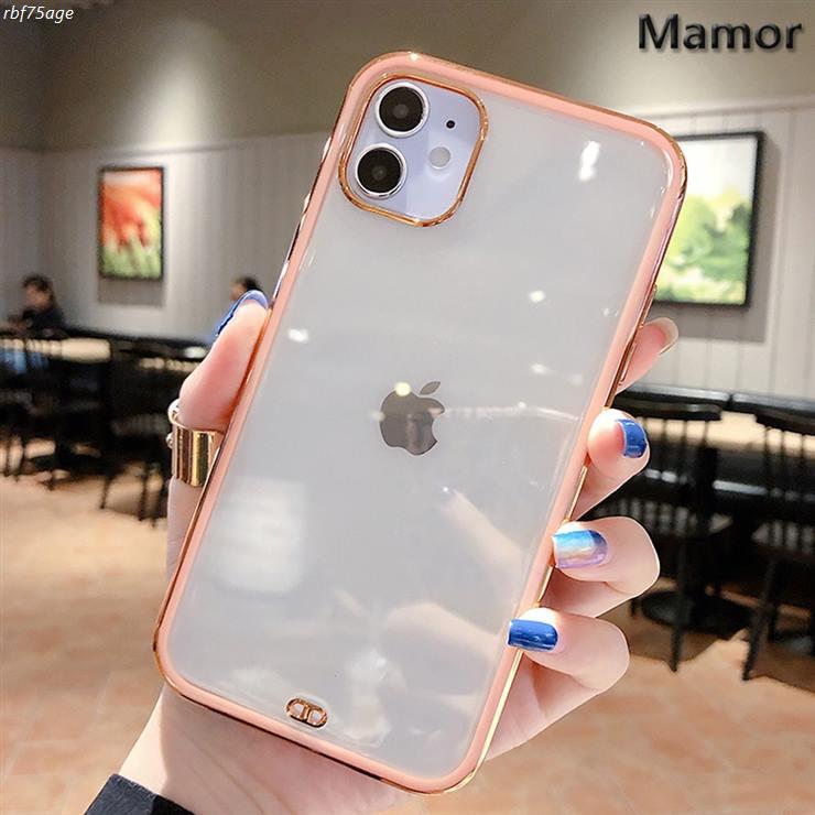 [대박할인] 컬러 범퍼 투명 핸드폰 케이스 아이폰 12 11 X XS XR 8 7 프로 맥스 PRO MAX 플러스 9,900 원♡ ❤
