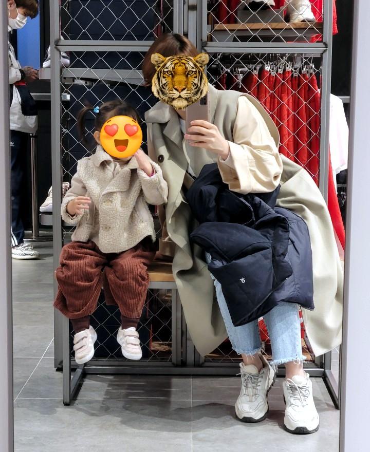 [외출복] 꼬맹아, 엄마랑 옷 입자