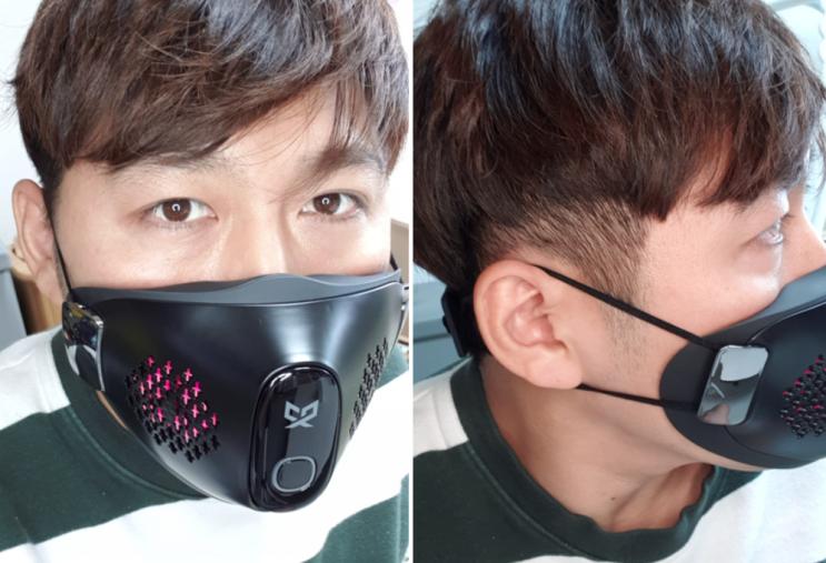 셀리턴 전자식 마스크 CX9 LED 피부관리에 살균효과까지