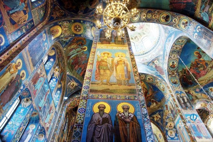 러시아 여행 상트페테르부르크에서 꼭 가봐야 할 곳 - 피의 구원사원(그리스도 부활 사원)