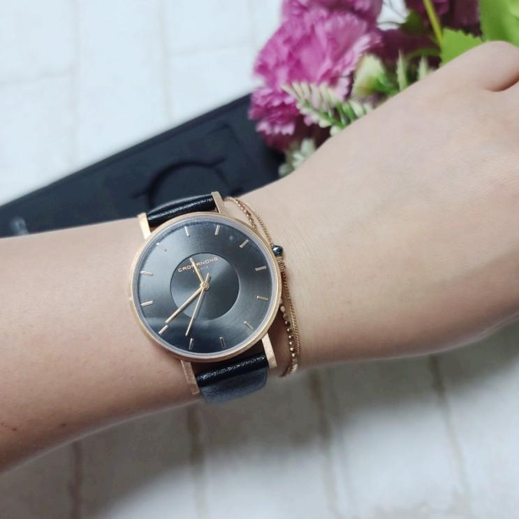 여자 손목시계 고급진 프랑스 브랜드 크로마농