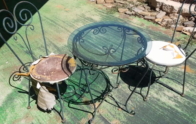 리폼 - 커피 테이블 의자 리폼하기