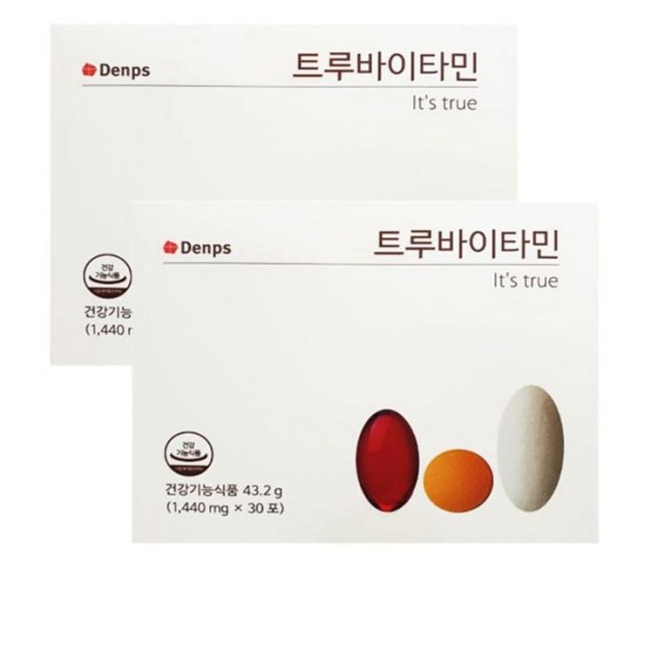 [대박할인] 덴프스 트루바이타민 30포 x 2박스 다니엘헤니 비타민 46,200 원~ ♡