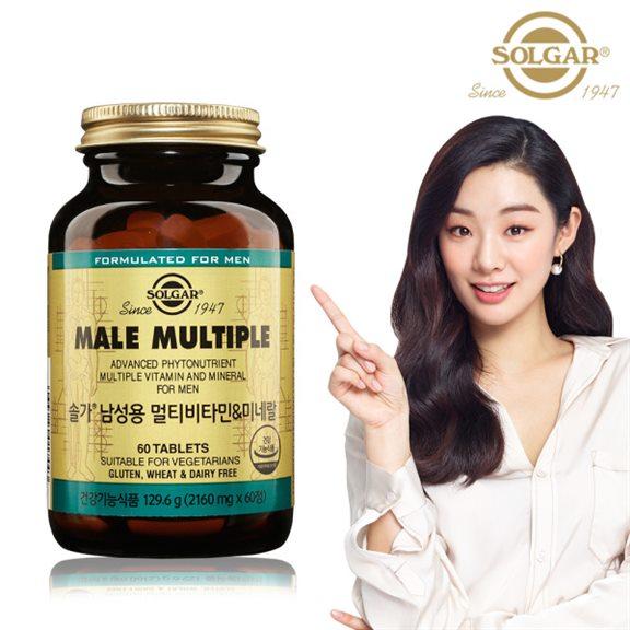 [추천특가] 솔가 남성용 멀티비타민 미네랄 60정/2개월  34,750 원♪♩ ♡