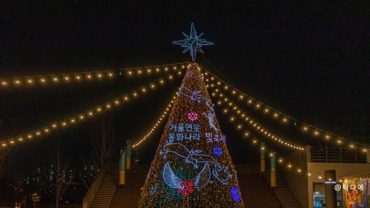 부산시민공원 빛축제 힐링여행 하다