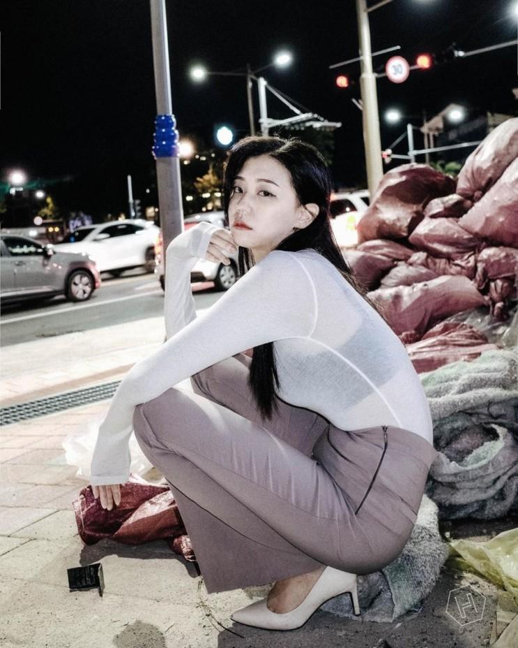 프리랜서 모델 신혜민