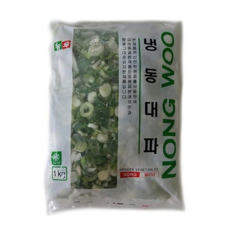 [할인추천] 냉동 대파 슬라이스1kg 요리재료 양념 간편조리 농우 4,960 원✌︎ ♪