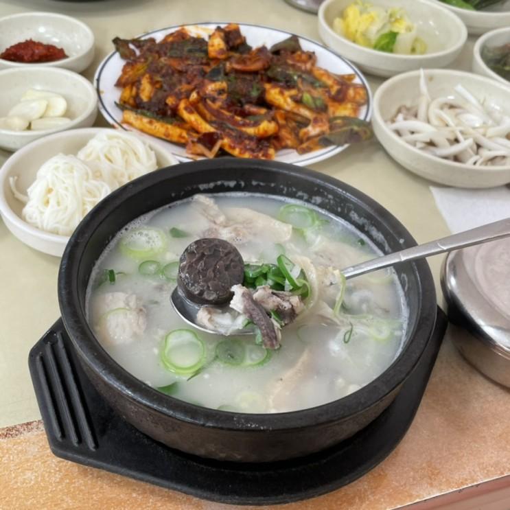 경주 한식 맛집 : 국밥과 오징어볶음 용궁단골식당