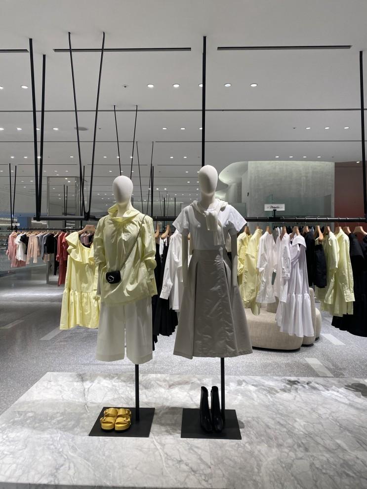 패션 인플루언서가 알려주는 더현대서울 소식