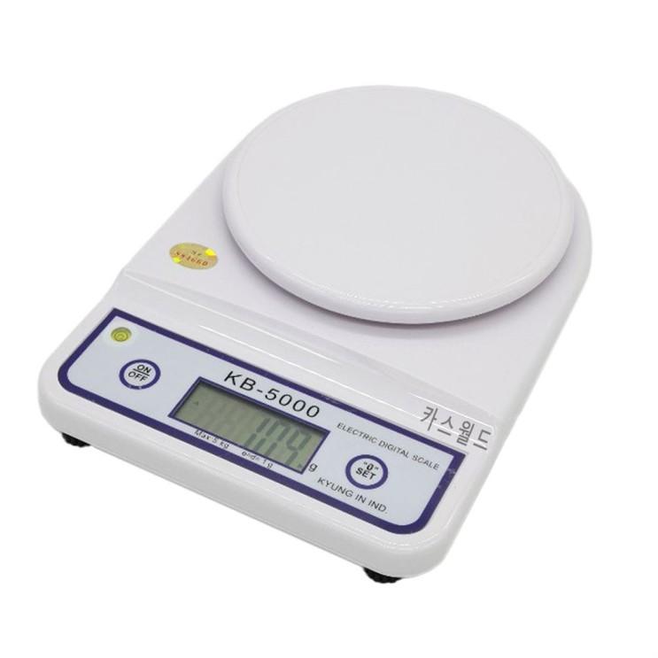 [할인추천] 경인산업 5KG 계량 주방 전자저울 25,900 원! !