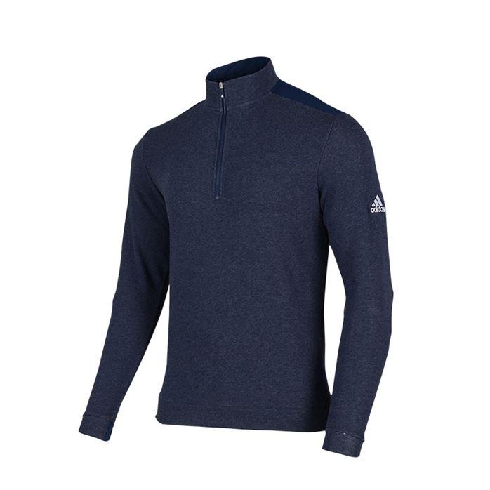 오늘 HOT 아디다스골프 남성용 하프집업 헤더 레이어 긴팔 티셔츠 GH8007! 판매순위