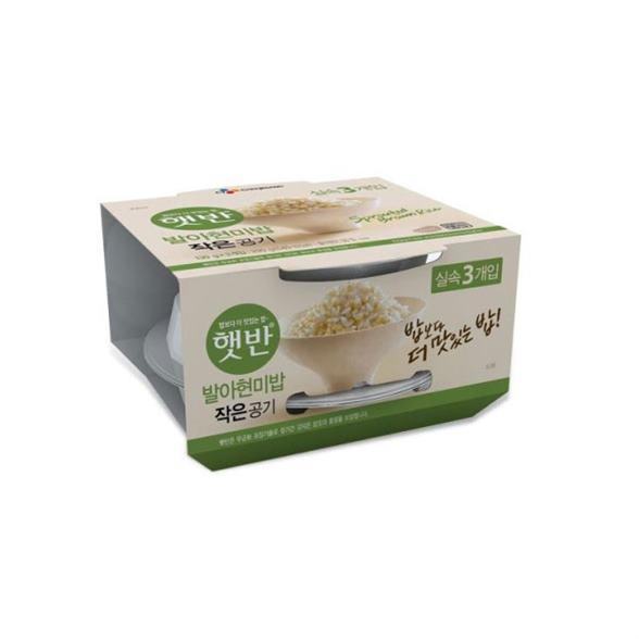 [특가상품] 예이니종합물류 CJ 햇반 발아현미밥 작은공기9개 흑미밥 작은공기9개 130g*18개 31,900 원★ !