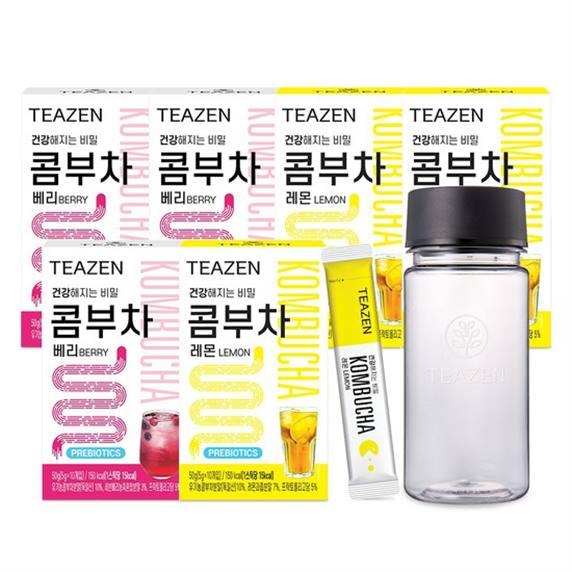 [할인제품] MLC 티젠 콤부차 레몬 3박스 베리 3박스/보틀 증정 35,900 원♩ ~