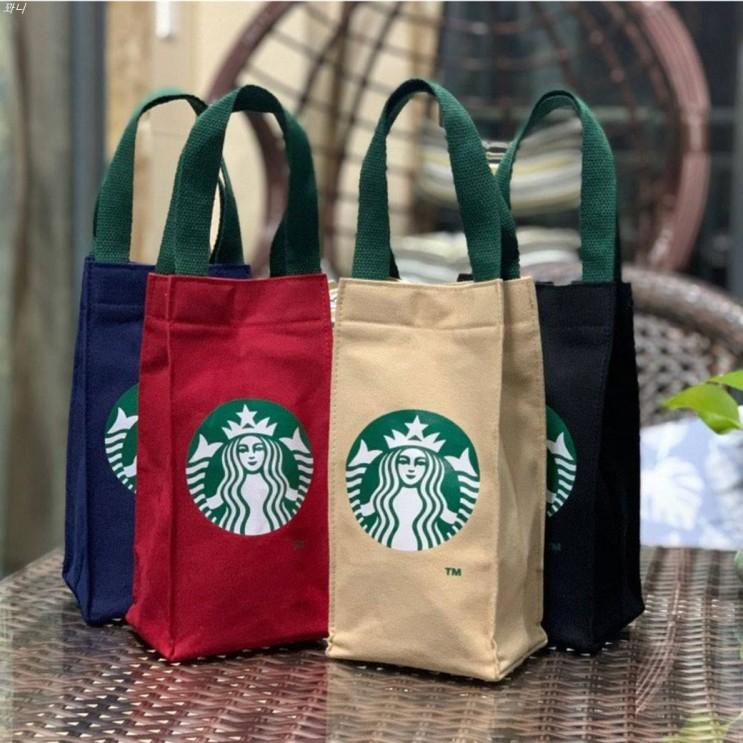 [할인제품] 스타벅스 미니가방 4color 물병가방 보조가방 8,900 원✿ ✌︎
