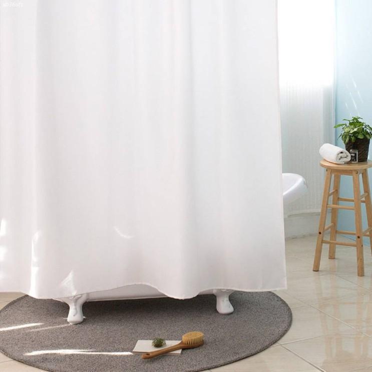 [할인제품] 원세븐나인 솔리드 베이직 샤워커튼 화이트 1800 x 1800 mm 19,230 원♪ 49% 할인✿