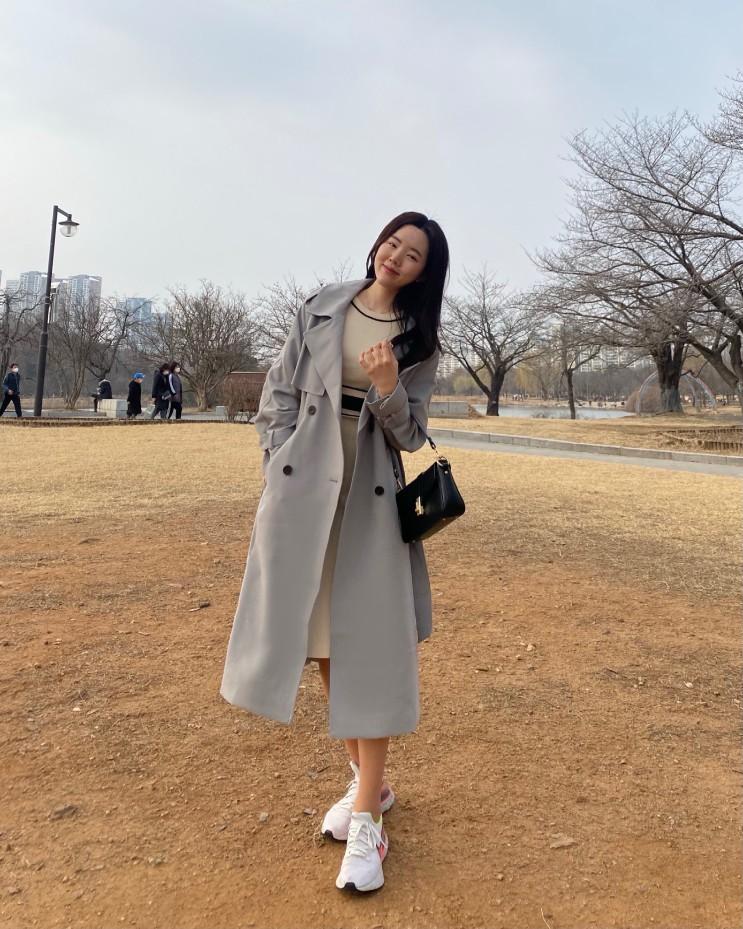 미쏘(MIXXO) 핏이 예쁜 여자트렌치코트