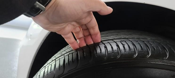 타이어 연식 & 타이어 마모한계선 (영상첨부)