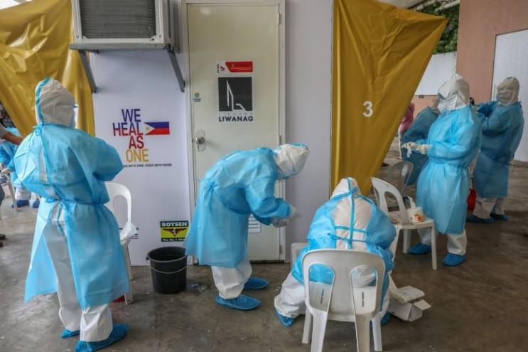 필리핀 코로나 확진자 증가 한달간 외국인 입국 금지